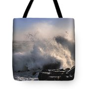 Crashing Surf Tote Bag