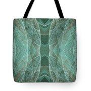 Crashing Waves Of Green 1 - Panorama - Abstract - Fractal Art Tote Bag