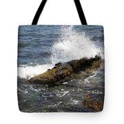 Crashing Waves - Rhode Island Tote Bag