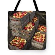 Crated Apples Tote Bag