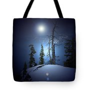 Crater Lake Midnight Oregon Tote Bag