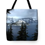 Crater Lake Oregon Tote Bag