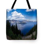 Crater Lake Pnorama - 2 Tote Bag