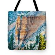 Crater Lake Pumice Castle Tote Bag