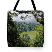 craterlake in Montagne d'Ambre National Park Madagascar Tote Bag