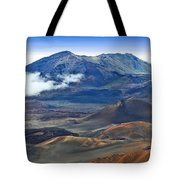 Craters And Cones Tote Bag