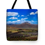 Craters Of The Moon Tote Bag by Robert Bales