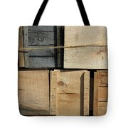 Crates At The Orchard 2 Tote Bag