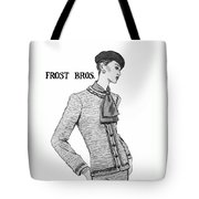 Cravat Tote Bag
