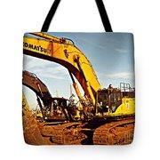 Crawler Excavator - Komatsu - Digger - Machinery Tote Bag