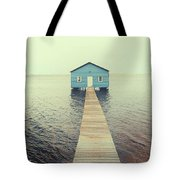 Crawley Edge Boatshed Tote Bag by Yew Kwang