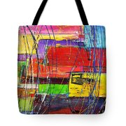 Crazy Abstract Tote Bag
