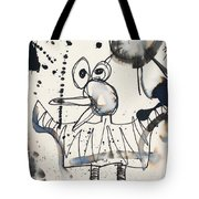 Crazy Bird Tote Bag