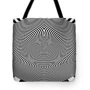 Crazy Circles Tote Bag