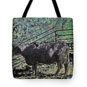 Crazy Cow Tote Bag