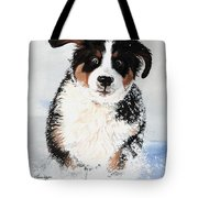 Crazy For Snow Tote Bag