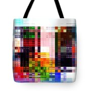 Crazy Quilt Tote Bag