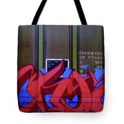 Crazy Red Tote Bag