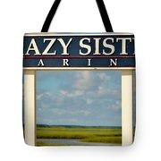 Crazy Sister Marina Tote Bag