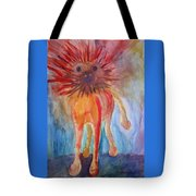 It Isn't Easy Being The Crazy Animal Tote Bag