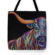 Crazy Woman Bull Tote Bag