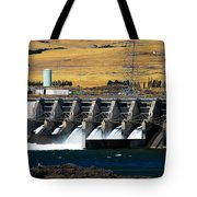 The Dalles Dam Tote Bag