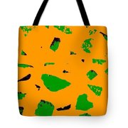 Creamsicle Orange Abstract Tote Bag
