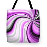 Creamy Pink Graphic Tote Bag