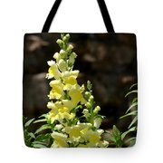 Creamy Yellow Snapdragon Tote Bag