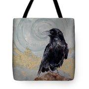Creation - A Raven Tote Bag