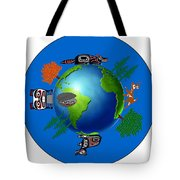 Creation Day Six Tote Bag