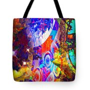 Creation Of Stars Tote Bag
