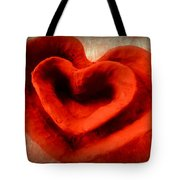 Creative Heart Ceramic Bowl Tote Bag