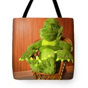 Creature From The Groovy Lagoon Tote Bag