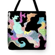 Creature Of Color Tote Bag