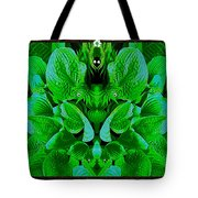 Creatures In The Green Fauna Tote Bag