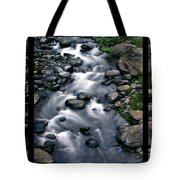 Creek Flow Polyptych Tote Bag