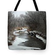 Creek Mood Tote Bag