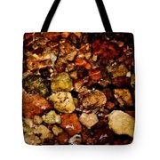 Creek Rocks Tote Bag