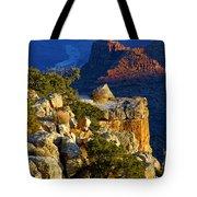 Creeping Morning Canyon Light Tote Bag