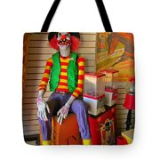 Creepy Clown Tote Bag