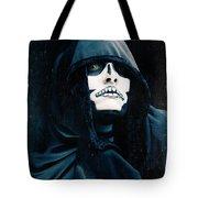Creepy Skeleton Tote Bag