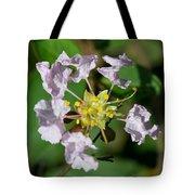 Crepe Myrtle Blossom Ring Tote Bag