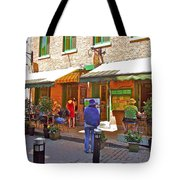 Crepes Et Fondues In Old Montreal-qc Tote Bag