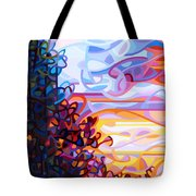 Crescendo Tote Bag by Mandy Budan