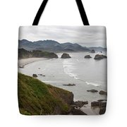 Crescent Bay At Cannon Beach Oregon Coast Tote Bag
