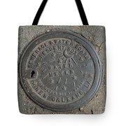 Crescent City Water Meter Tote Bag