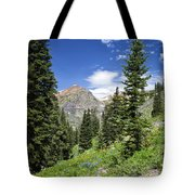 Crested Butte Flowers Tote Bag