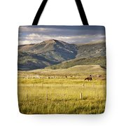 Crested Butte Ranch Tote Bag