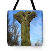 Crested Cactus Tote Bag